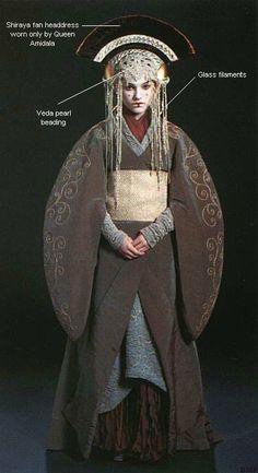 Kimono-inspired robe worn by Padme Amidala in Star Wars Episode I.