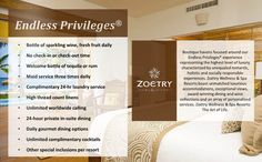 What do you get at Zoetry resorts? #travel