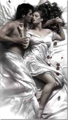 Hades & Persephone - back in ancient times.