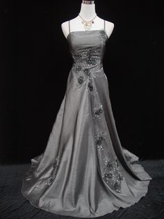This dress is made by 50% cotton, 50% polyester. 16 18 20 22 24 26 28 30 32. Style : Long wedding gown. 15 17 19 21 23 25 27 29. Colour : Grey. Best for : Wedding and prom. Dress sizing conversion. 8 10 12. | eBay!