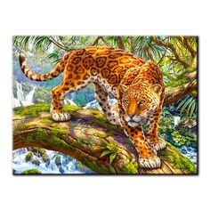 Diamond Drawing, 5d Diamond Painting, Cross Paintings, Animal Paintings, Share Pictures, Leopard Animal, Animated Gifs, Mosaic Patterns, Purple Cat