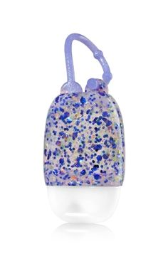 Purple Confetti - PocketBac Holder - Bath & Body Works - A party for your PocketBac! Purple confetti adds shimmer & shine, while the adjustable strap attaches to your backpack, purse and more so you can always keep your favorite sanitizer close at hand. Perfume, Crochet Owl Pillows, Bath N Body, Fragrance Lotion, Hand Sanitizer Holder, Purple Hands, Bath And Bodyworks, Unicorn Gifts, Dream Nails