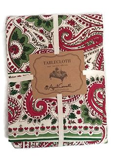 April Cornell Holiday Paisley Tablecloth in Red, Green & ... https://www.amazon.com/dp/B01MYQ5516/ref=cm_sw_r_pi_dp_x_SQaAybDT743ZF