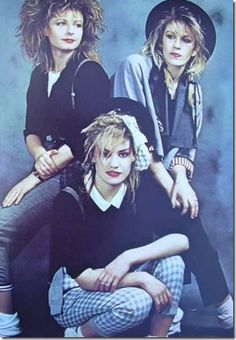 I think I loved that everyone in this era dressed very retro punk. Moda Retro, Moda Vintage, Shakespears Sister, Skier, 80s And 90s Fashion, 1980s Fashion Trends, 80s Pop, Retro Mode, 80s Party