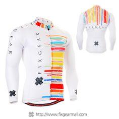 FIXGEAR CS-3301 Men s Cycling Jersey long sleeve e5be24f17