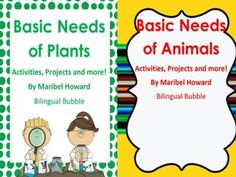 basic needs of animals and plants spring resources activities science classroom science. Black Bedroom Furniture Sets. Home Design Ideas
