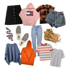 """Clothes I want"" by sunsetsandflowers on Polyvore featuring Miss Selfridge, Converse, Vans, Topshop, RE/DONE and American Apparel"