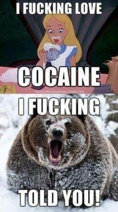 Cocaine...
