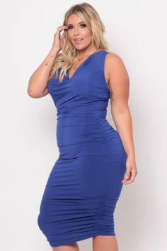 #dress #plus #size #plussize #fashion #retail #curvysense #curvy #sense #fashion #retail #shop #body #positive #blue #soft #bodycon #tight #sexy