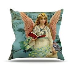 Kess InHouse Suzanne Carter The Delivery Indoor / Outdoor Throw Pillow - SC2016AOP0