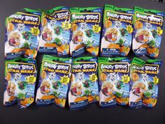 NEW Angry Birds Star Wars Series 2 Mystery Pack Figures Blind Bag 10 bags #Hasbro