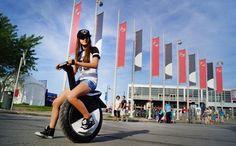 一輪車の進化版!?タイヤが1つしかない電動バイクがおもしろい! | ガジェット通信