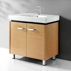 """Check out the Legion Furniture WC019 31"""" Plywood Single Sink Vanity in Naturel Pine - Vanity Top Included priced at $334.88 at Homeclick.com."""