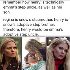 Once upon a time family tree Emma and Henry
