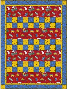 CHECKMATE  Downloadable 3 Yd Quilt Pattern