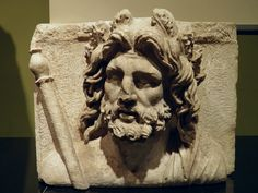 Relief of Zeus, 1st - 2nd century AD, from Sagalassos, Burdur Museum