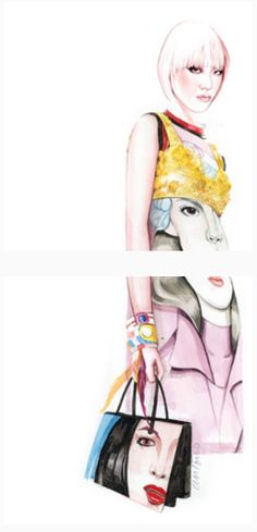Antonio Soares fashion illustration