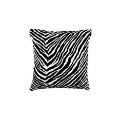 Artek - Zebra Pillowcase ($125) ❤ liked on Polyvore featuring home, bed & bath, bedding, bed sheets, cushions, home textiles, zebra bedding, black and white zebra bedding, patterned pillow cases and artek