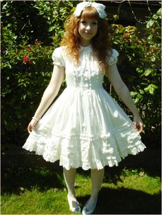 I will one day have a lolita dress, I swear I will.