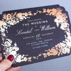 Simply to Impress Black Wedding Invitations, Wedding Invitation Cards, Wedding Cards, Spring Wedding, Wedding Day, Different Wedding Ideas, Wedding Stationery Inspiration, Glamorous Wedding, Gold Weddings