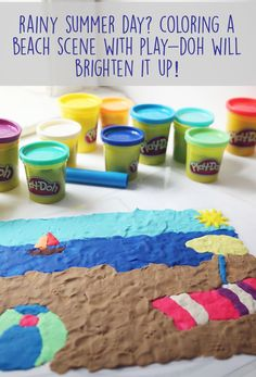 "Play-Doh fun!! Use laminated coloring pages to ""color"" with Play-Doh."