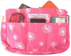 Pink Dandy - handbag organiser - hardtofind.
