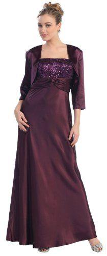 Mother of the Bride Formal Evening Dress #565 (Medium, Eggplant) US Fairytailes,http://www.amazon.com/dp/B002G5TF0S/ref=cm_sw_r_pi_dp_omUdtb188R1WY882