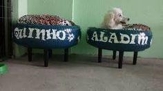 Resultado de imagem para cama de cachorro de pneu