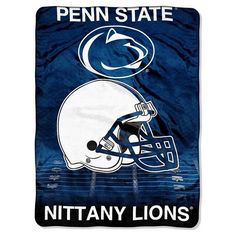 Bed Blanket Penn State Nittany Lions NCAA 60X80 Inches Team Color