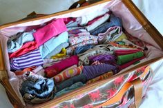 packing/traveling (with kids)