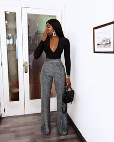 Womens Clothes Online Boutique whenever Classy Outfits For The Club -- Women's Clothes Dropshippers Business Casual Outfits, Professional Outfits, Classy Outfits, Stylish Outfits, Dinner Outfit Classy, Black Women Fashion, Look Fashion, Womens Fashion, Black Women Style
