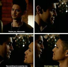 Magnus and Alec #Malec 2x07