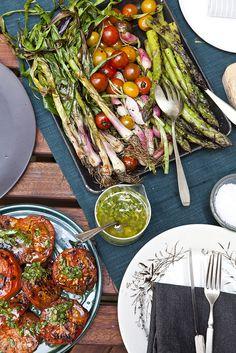 """Bon Appetit's """"The Grilling Cookbook""""   Nicole Franzen  """