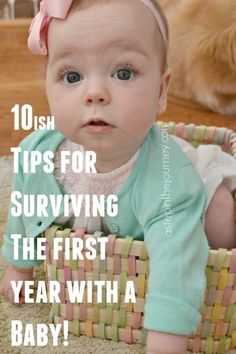 Great tips for every parent navigating the first year. Just a real mom telling it how it is!
