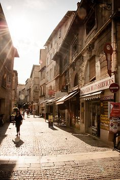 Avignon - love... Visited here as a child and lucky enough to take my husband there in 2012, happy days