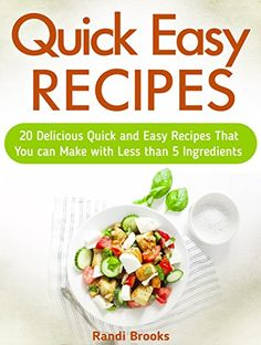Quick Easy Recipes: 20 Delicious Quick and Easy Recipes T... http://www.amazon.com/dp/B01ARW7IPK/ref=cm_sw_r_pi_dp_QA6gxb0C31MNN