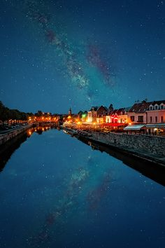 Milky Way, reflection