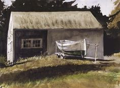 Andrew Wyeth - Lifeboat