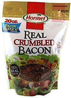 Hormel Premium Real Crumbled Bacon 20 oz (Pack of Gourmet Recipes, Snack Recipes, Snacks, Hormel Bacon, Bagel Bites, Pepperoni, Cool Things To Buy, Chips, Appetizers