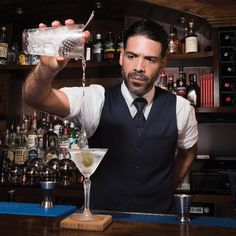 Suffolk Arms' Giuseppe González on Paying His Bar World Dues: The NYC bartending legend has been through it all. And his years of work are paying off.