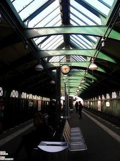 U-BAHN TO KREUZBERG... by Richelle Desiree
