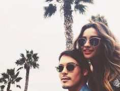 Tyler and Shay having fun in the sun | Pretty Little Liars