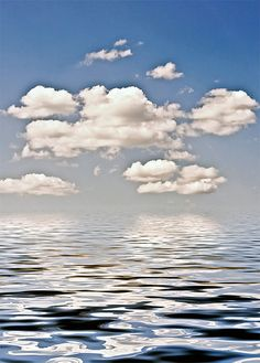 """""""Clouds in Reflection"""" by Andrea Giebner 2008"""