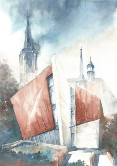 Watercolours by Daria Gołąb  AKADEA Visual Impact