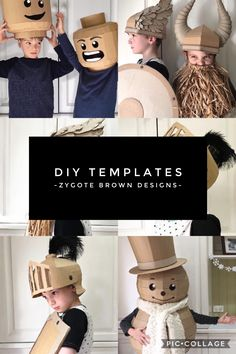 DIY templates that you can make yourself