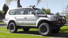 Snorkels look gay Land Cruiser, Prado, 4x4, Toyota, Vehicles, Ideas, Cars, Vehicle