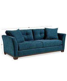 Kenton Fabric Sofa Web Id 683437 Dimensions 88 Quot W X