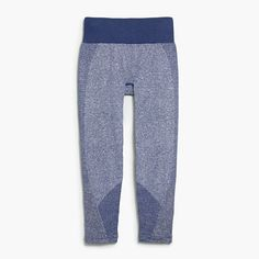 """We partnered with our friends at New Balance to bring you our first-ever collection of workout clothes—in techy fabrics and unique colors and prints. These fitted capris are unbelievably comfortable thanks to their stretchy, seamless design (that's also moisture-wicking thanks to NB Dry fabric). <ul><li>Fitted.</li><li>19"""" inseam.</li><li>Nylon/poly/elastane.</li><li>Machine wash.</li><li>Import.</li><li>Our colors really pop, but you can't tell just how vibrant some of them are until you…"""