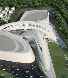 Hotel and Retail Centre in Jesolo Seaside Resort, #Italy / Zaha Hadid #ARCHITECTURE