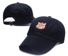 Black Pink Tan Kanye West Graduation College Dropout Bear Dad Hat Cap Never  not weird Baseball Cap Hip Hop Summer Snapback hat Supernatural Style 0a5974db852a